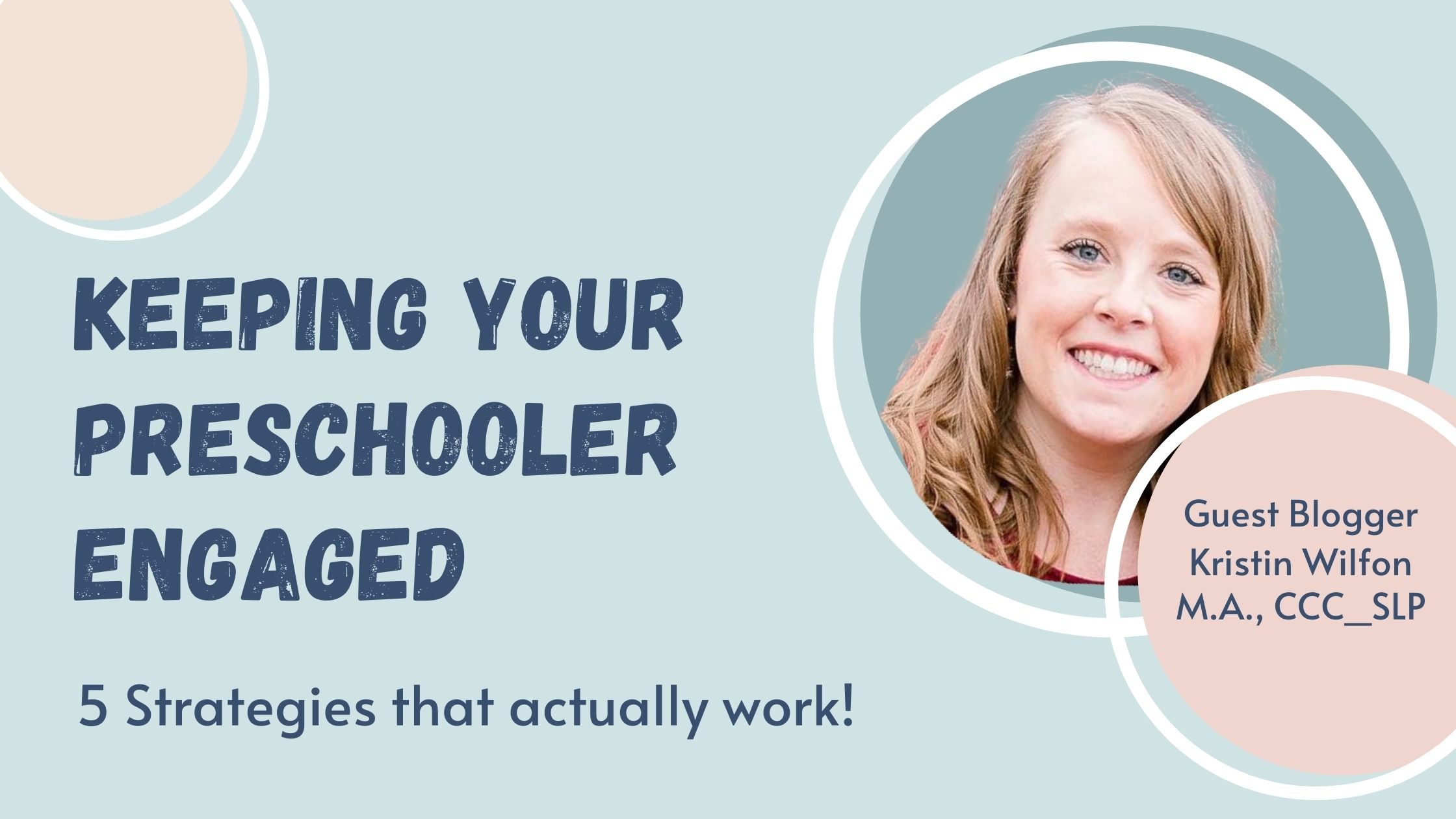 keeping your preschooler engaged